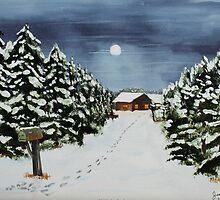 Winter Awe by Jack G Brauer