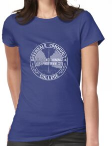 Greendale AC Repair Annex Womens Fitted T-Shirt