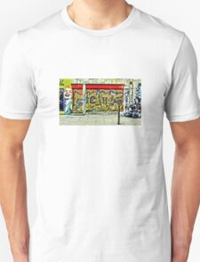 Street art on Brick Lane Unisex T-Shirt