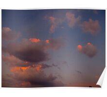 Greek mythology clouds Poster