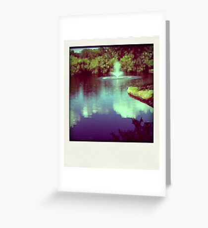 Our pond Greeting Card