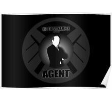 Agent B/W Poster