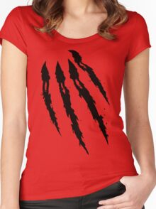 Something to sink your Claws into! Women's Fitted Scoop T-Shirt