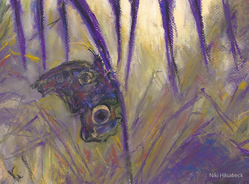 Cling (pastel) by Niki Hilsabeck