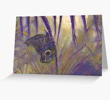 Cling (pastel) Greeting Card
