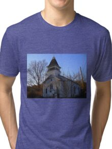 Bars And Steeples  Tri-blend T-Shirt