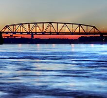 The Beauty Of The Mississippi River  by cdfeag65202