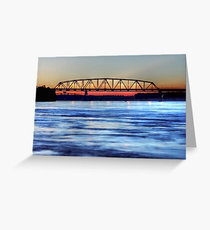 The Beauty Of The Mississippi River  Greeting Card