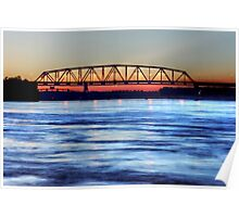 The Beauty Of The Mississippi River  Poster