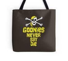 Goonies distressed .  Tote Bag