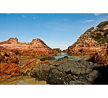 0499 Rocky Inlet Photographic Print