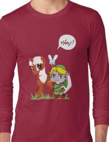 The Legend of Zeldestia Long Sleeve T-Shirt