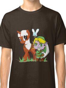 The Legend of Zeldestia (no text version) Classic T-Shirt
