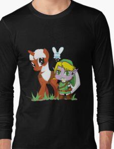 The Legend of Zeldestia (no text version) Long Sleeve T-Shirt