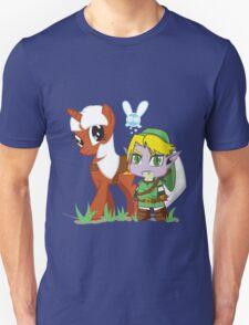 The Legend of Zeldestia (no text version) Unisex T-Shirt
