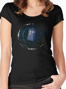 Space and Time and the Universe Women's Fitted Scoop T-Shirt