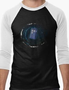 Space and Time and the Universe Men's Baseball ¾ T-Shirt