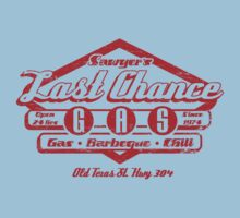 Last Chance Gas Station Kids Tee