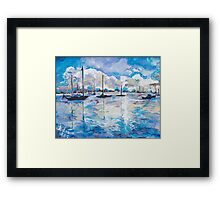 In Search For America's Freedom Framed Print