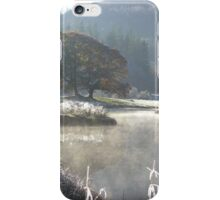 Autumn Ice - English Lakes iPhone Case/Skin