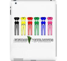 Suburban Power Rangers iPad Case/Skin