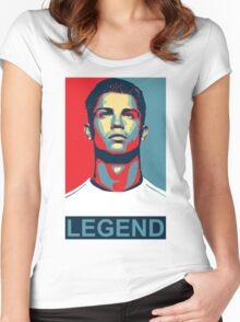 Ronaldo Women's Fitted Scoop T-Shirt