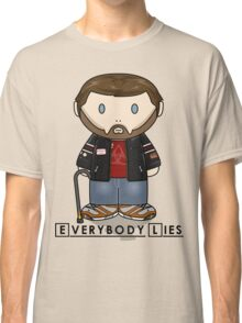 Dr House - Everybody Lies - Minifolk Design Classic T-Shirt