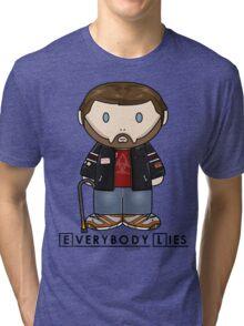 Dr House - Everybody Lies - Minifolk Design Tri-blend T-Shirt