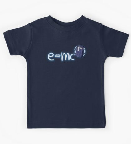 Relativity of Space and Time Kids Tee