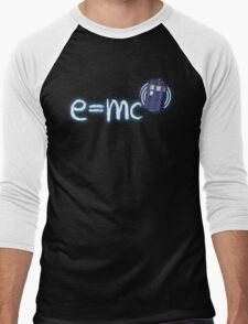 Relativity of Space and Time Men's Baseball ¾ T-Shirt