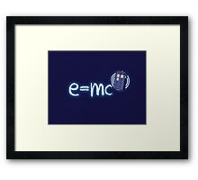 Relativity of Space and Time Framed Print