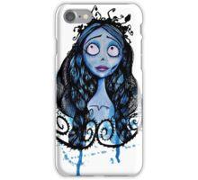 Watercolor Corpse Bride iPhone Case/Skin