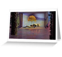 In Bloom Labours Greeting Card