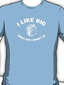 I Like Big Books - Baby Got Books - Vintage T-Shirt