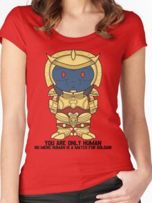Goldar - Minifolk Designs Women's Fitted Scoop T-Shirt