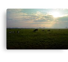 In the Dutch mountains Canvas Print