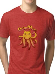 OctoPuss Tri-blend T-Shirt