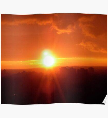 Ottawa Sunset Poster