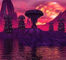 Alien Island by KerenzaDesigns