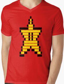 Mario Star Item Mens V-Neck T-Shirt