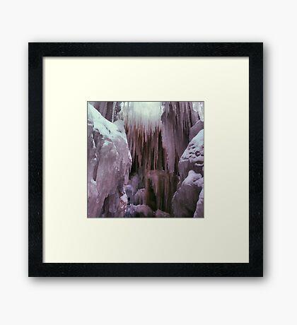 Ice Castle Framed Print