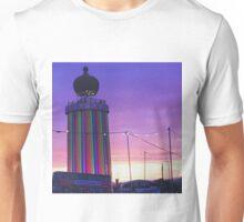 Glastonbury Ribbon Tower Unisex T-Shirt