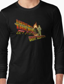Back to the future day - Great scott!! Long Sleeve T-Shirt