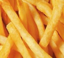french fries <3 Sticker