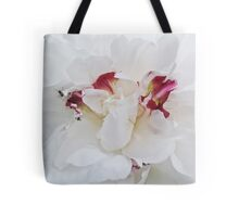 Peony with Ants Tote Bag
