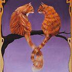 Nouveau Cats by Boris J
