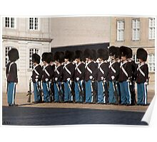 The Royal Life Guards.. Poster