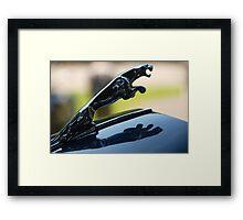 Upperclass Cat Framed Print
