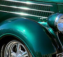 Hot Chrome and Metallic Green by Bob Wall