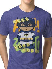 Batman 66 - Na Na Na Na - Minifolk Design Tri-blend T-Shirt